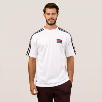 ガンビアのTシャツのメンズ旗 Tシャツ