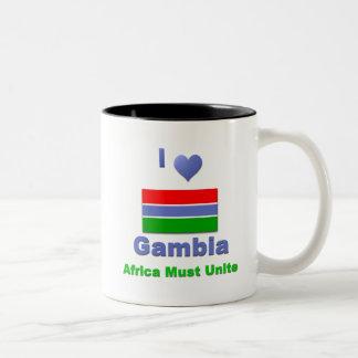 ガンビア ツートーンマグカップ