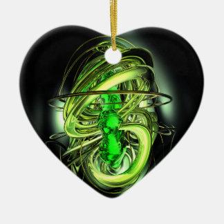 ガンマ線の破烈の抽象芸術のオーナメント セラミックオーナメント
