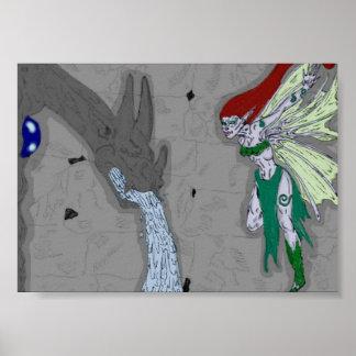 ガーゴイルおよび妖精 ポスター