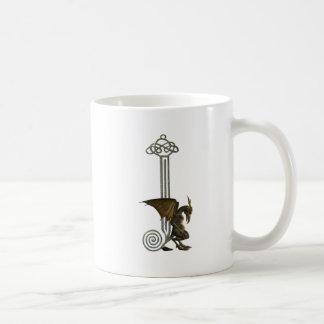 ガーゴイルのモノグラムJ コーヒーマグカップ
