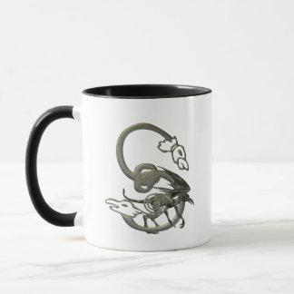 ガーゴイルのモノグラムS マグカップ