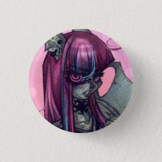 ガーゴイルモンスターの女の子Pin 3.2cm 丸型バッジ