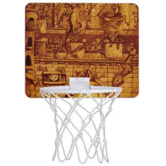 ガーゴイル夜 ミニバスケットボールゴール