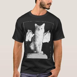 ガーゴイル猫のハロウィンのTシャツ Tシャツ