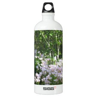 ガーデンステイトニュージャージー、米国、アメリカの写真の花 ウォーターボトル