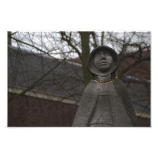 ガートルードvan Oostenの彫像 フォトプリント