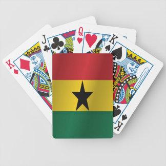 ガーナの旗 バイスクルトランプ
