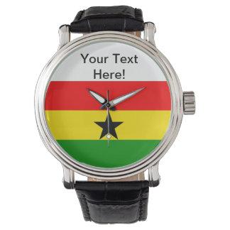 ガーナの旗 リストウオッチ