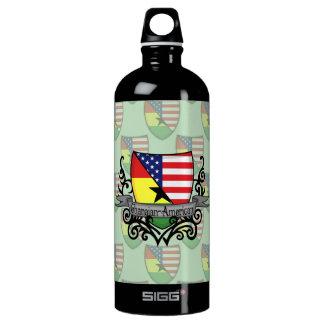 ガーナアメリカの盾の旗 ウォーターボトル
