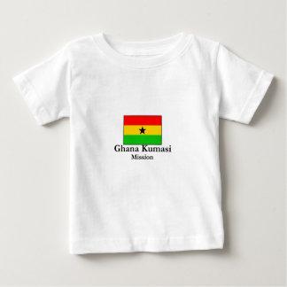 ガーナクマシの代表団LDSの代表団のTシャツ ベビーTシャツ