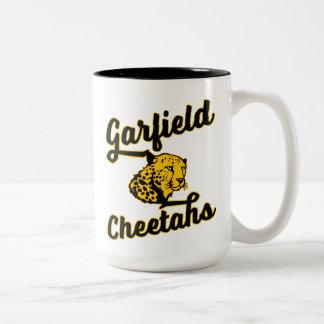 ガーフィールドのチータの大きいマグ ツートーンマグカップ