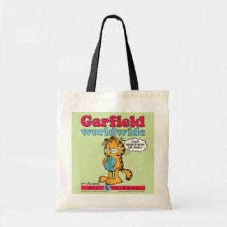 ガーフィールドの世界的なトートバック トートバッグ
