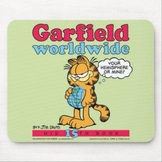 ガーフィールドの世界的なマウスパッド マウスパッド