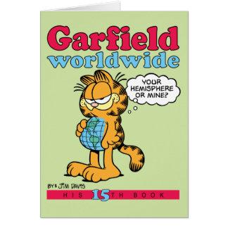 ガーフィールドの世界的なメッセージカード グリーティングカード