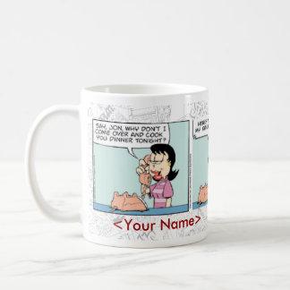 ガーフィールドの毎日の続きこま漫画のマグ コーヒーマグカップ