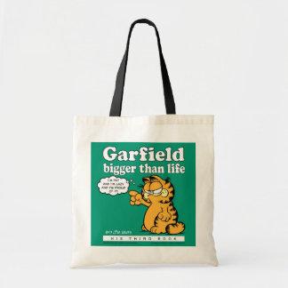 ガーフィールドの英雄的なトートバック トートバッグ