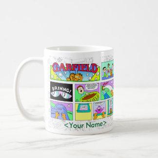 ガーフィールド日曜日の続きこま漫画のマグ コーヒーマグカップ