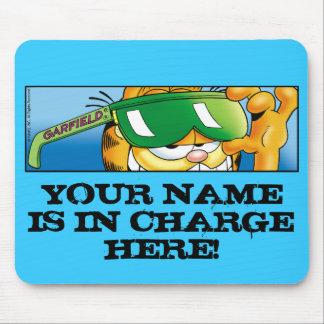 ガーフィールドLogoboxの担当したマウスパッド マウスパッド