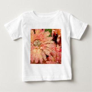 ガーベラのデイジーの抽象芸術 ベビーTシャツ