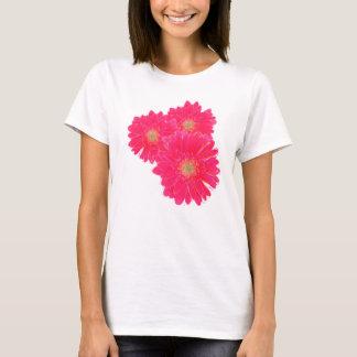 ガーベラのデイジーの花束 Tシャツ