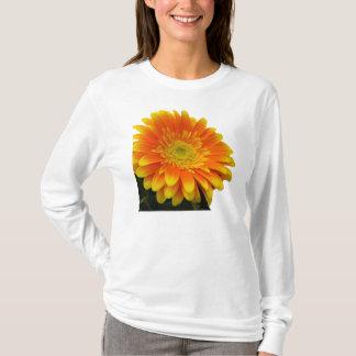 ガーベラの女性ワイシャツ Tシャツ
