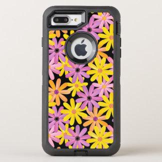 ガーベラの花模様、背景 オッターボックスディフェンダーiPhone 8 PLUS/7 PLUSケース