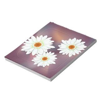 ガーベラの花 ノートパッド