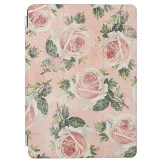 ガーリーで汚いピンクのバラ iPad AIR カバー