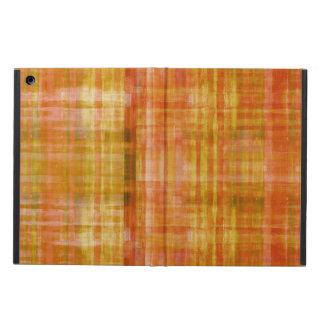 ガーリーなオレンジ抽象美術パターン