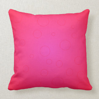 ガーリーなショッキングピンクの枕モダンの装飾 クッション