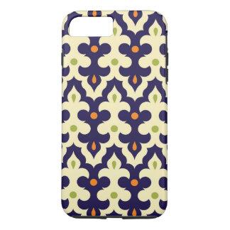 ガーリーなダマスク織のペーズリーのアラベスクのモロッコパターン iPhone 8 PLUS/7 PLUSケース