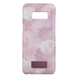 ガーリーなピンクの水彩画のバラ Case-Mate SAMSUNG GALAXY S8ケース
