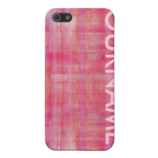 ガーリーなピンクパターンあなたの一流の場合 iPhone 5 CASE