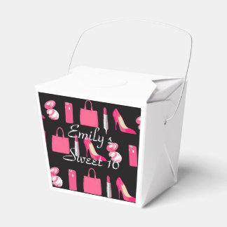 ガーリーな事のテイクアウトの容器 フェイバーボックス