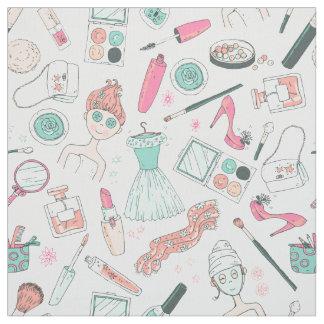 ガーリーな化粧の美しいのファッションID379 ファブリック