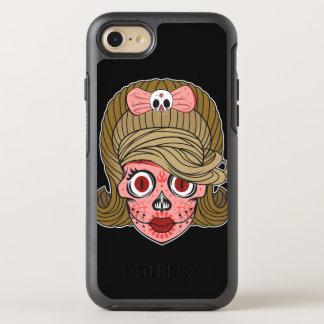 ガーリーな砂糖のスカル オッターボックスシンメトリーiPhone 7 ケース