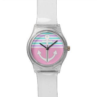 ガーリーな航海の 腕時計