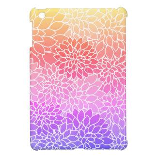 ガーリーな花柄の堅い貝のiPad Miniケース iPad Miniケース