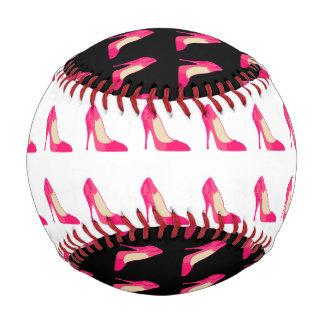 ガーリーな靴の野球 野球ボール