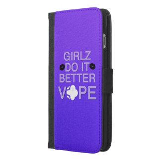ガーリーなVape iPhone 6/6s Plus ウォレットケース