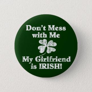 ガールフレンドはアイルランド語です 缶バッジ