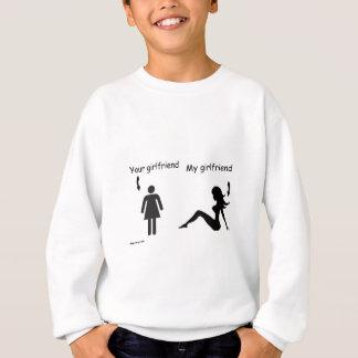 ガールフレンド落ち着かせれば スウェットシャツ