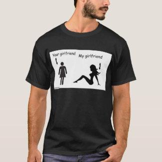 ガールフレンド落ち着かせれば Tシャツ
