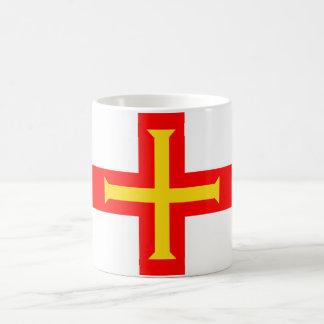 ガーンジーの国の長い旗の国家の記号共和国 コーヒーマグカップ