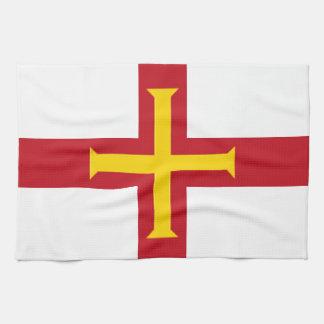 ガーンジーの旗 キッチンタオル