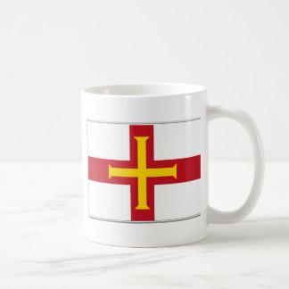 ガーンジーの旗 コーヒーマグカップ