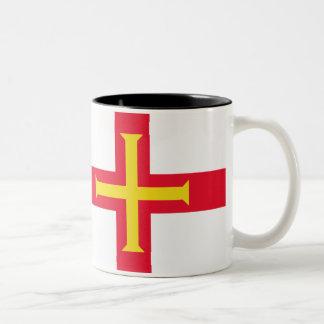 ガーンジーの旗 ツートーンマグカップ