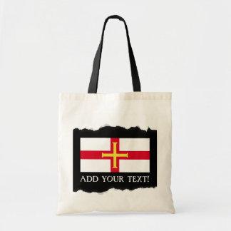 ガーンジーの旗 トートバッグ
