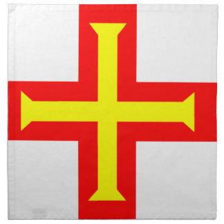 ガーンジーの旗 ナプキンクロス